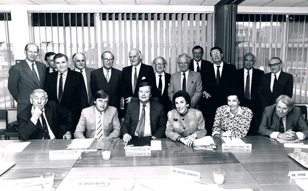 1988 Dept of Health Ministers and regional chairmen